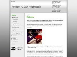 Michael F. Van Hoomissen (Vancouver, Washington)
