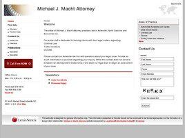 Michael J. Macht Attorney (Hendersonville, North Carolina)