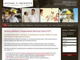 Michael V. Beckwith Attorney at Law (Ventura, California)