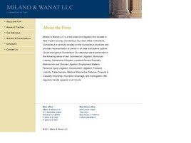 Milano & Wanat, LLC (New Haven Co., Connecticut)