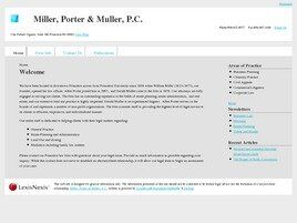 Miller, Porter & Muller, P.C. (Mercer Co., New Jersey)
