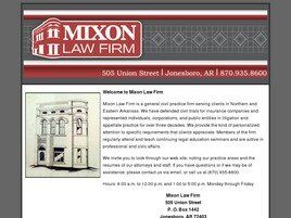 Mixon Law Firm (Jonesboro, Arkansas)