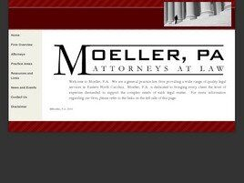 Moeller, P.A., Attorneys At Law (New Bern, North Carolina)