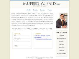 Mufeed W. Said, PLLC (Petersburg, Virginia)