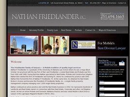 Nathan P. Friedlander, P.C. (Mobile, Alabama)