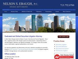 NELSON S. EBAUGH, P.C. (Houston, Texas)