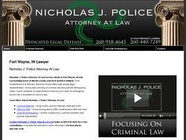 Nicholas J. Police Attorney at Law (Fort Wayne, Indiana)