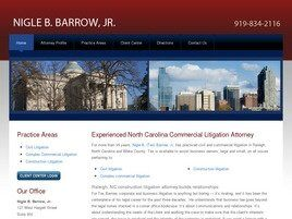 Nigle B. Barrow, Jr. (Raleigh, North Carolina)