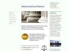 Niswanger Law Firm PLC (Benton, Arkansas)