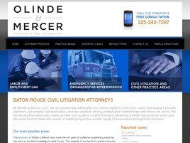 Olinde & Mercer, LLC (East Baton Rouge Parish, Louisiana)