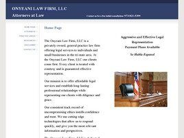 Onyeani Law Firm, LLC (Essex Co., New Jersey)