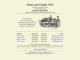 Owen and Truban, PLC (Winchester, Virginia)