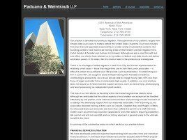 Paduano & Weintraub LLP (Queens Co., New York)