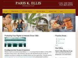 Paris K. Ellis, Attorney at Law (Middletown, Ohio)