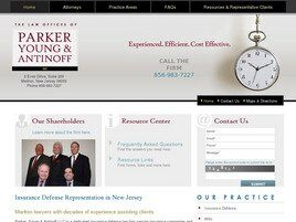 Parker, Young & Antinoff LLC (Burlington Co., New Jersey)