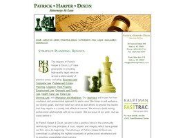 Patrick· Harper· Dixon Attorneys at Law (Statesville, North Carolina)