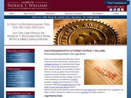 Law Office of Patrick T. Williams Attorney at Law (Houston, Texas)