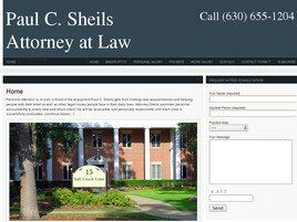 Paul C. Sheils Attorney at Law (Will Co., Illinois)