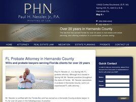 Paul H. Nessler, Jr., P.A. (Inverness, Florida)