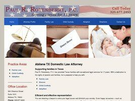 Paul R. Rotenberry, P.C. (Lubbock, Texas)