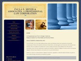 PAULA E. MEYER & ASSOCIATES A Professional Law Corporation (Los Angeles Co., California)