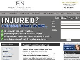 Personal Injury of Nevada (Los Angeles, California)