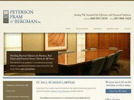 Peterson, Fram & Bergman A Professional Association (Ramsey Co., Minnesota)