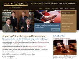Pfeifer, Morgan & Stesiak Attorneys at Law (Merrillville, Indiana)
