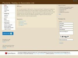 Piccione, Keeley & Associates Ltd. (Cook Co., Illinois)
