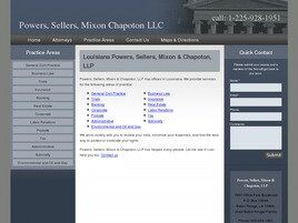 Powers, Sellers & Chapoton, LLP (East Baton Rouge Parish, Louisiana)