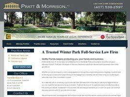 Pratt and Morrison, P.A. (Orange Co., Florida)