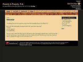 Pressly & Pressly, P.A. (West Palm Beach, Florida)
