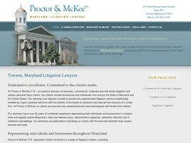 Proctor & McKee, P.A. (Baltimore, Maryland)