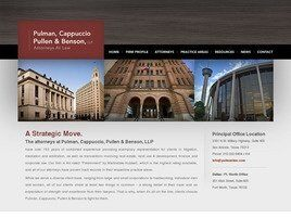 Pulman, Cappuccio, Pullen, Benson & Jones LLP (Dallas, Texas)