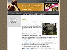 Ralph W. Powers, Jr., P.C. (Upper Marlboro, Maryland)
