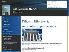 Ray A. Hayes II, P.A. (Mooresville, North Carolina)