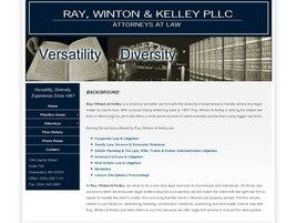 Ray, Winton & Kelley, PLLC (Charleston, West Virginia)