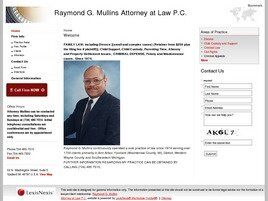 Raymond G. Mullins, PLLC (Wayne Co., Michigan)