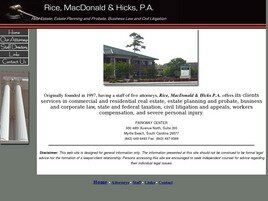 Rice, MacDonald & Hicks, P.A. (Myrtle Beach, South Carolina)