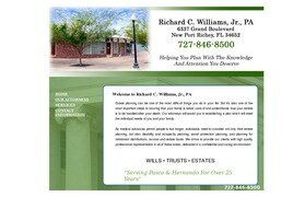 Richard C. Williams, Jr., P.A. (New Port Richey, Florida)