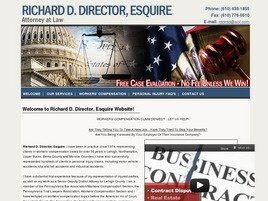 Richard D. Director, Esq. Attorney at Law (Lehigh Co., Pennsylvania)