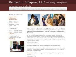 Richard E. Shapiro, LLC (Princeton, New Jersey)
