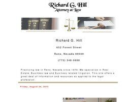 Richard G. Hill (Carson City, Nevada)