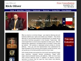 The Law Office of Rick Oliver (Houston, Texas)