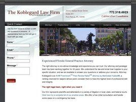 The Koblegard Law Firm Attorney at Law (Fort Pierce, Florida)