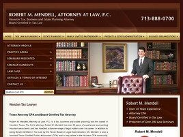 Robert M. Mendell Attorney at Law, P.C. (Houston, Texas)