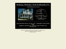 Rodman, Holscher, & Peck, P.A. (New Bern, North Carolina)
