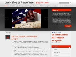 Roger M. Yale Attorney at Law (Lewisville, Texas)