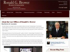 Ronald G. Brower (Santa Ana, California)