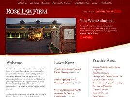 Rose Law Firm a Professional Association (Faulkner Co., Arkansas)
